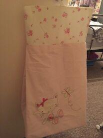 Pretty nappy sack