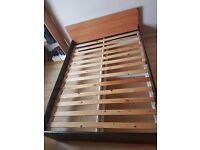 IKEA MALM Double Bed w/ drawers