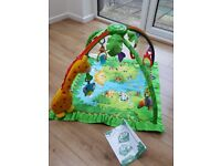 Fisher-Price Rainforest Music & Lights Deluxe Baby Gym