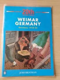 History Germany KS3,GCSE, Alevel book
