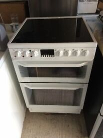 **AEG**ELECTRIC COOKER**60CM**DOUBLE OVEN\GRILL**VERY GOOD CONDITION**CERAMIC**NO OFFERS**