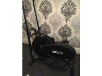 Pro fitness cross trainer! Great condition currently being used as a coat rack! £50 Ono