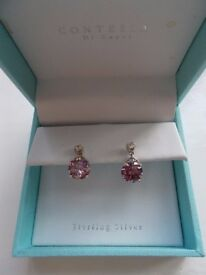 Brand new boxed sterling silver earrings