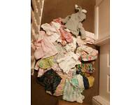 100S OF BABY GIRL CLOTHES NEWBORN TO 18-24 SIZE alot of next