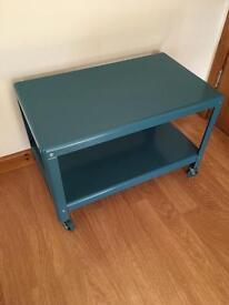 IKEA Ola Wihlborg Coffee Table on Casters Blue