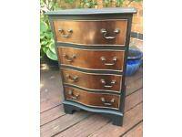 Serpentine Chest of Drawers (x4 drawers)