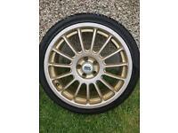 BK Racing alloy wheels 17/205/40