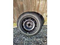 Ford Fiesta steel wheel & 175/65/R14 Bridgestone tyre