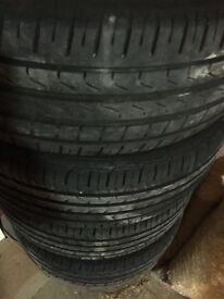 """16"""" MK7 Golf Alloys with Tyres"""