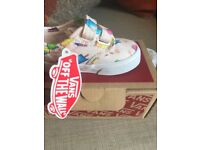 GIRLS SHOES - ICE LOLLY VANS