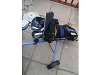 Jnr 12-16y/o full golf set and trolley
