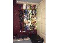 Xbox 360 with game bundle