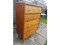 Antique bedroom drawers