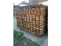 Fence panels 5.5 x3.5. Very very thick wood