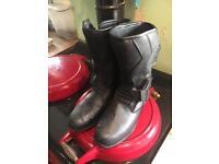 Frank Thomas Aqua Ride Motorcycle Boots