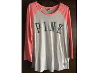 Victoria Secrets pink top