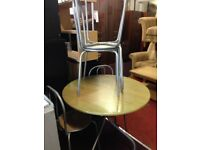 round table and 4 chairs for sale