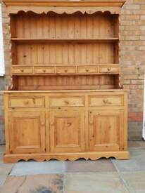 Pine Welsh Dresser good condition