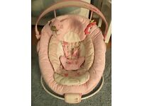Comfort and Harmony Pink Baby Chair