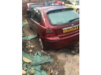 Rover 25 1.4 petrol spare or repairs
