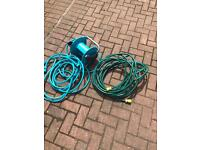 2 hoses 1 @ 15mtrs and 1 @ 10mtrs