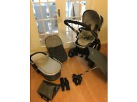 Icandy Peach 2 Pushchair in Truffle - Along with Carrycot