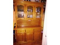 For Sale Beautiful French Pine Dresser