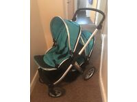 Oyster max tandem in Aqua blue- great condition