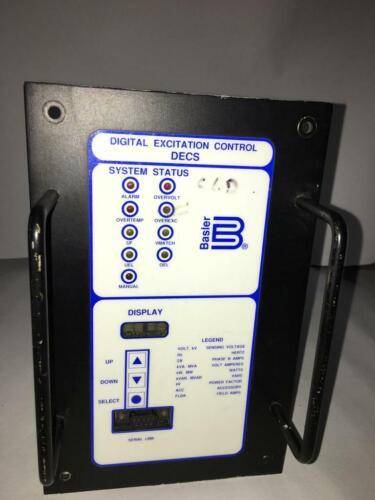 Basler Electric DIGITAL EXCITATION CONTROL SYSTEM DECS 125-15