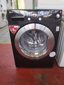 Black LG Washing Machine (8kg) (6 Month Warranty)