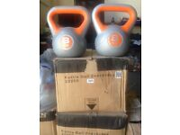 Kettle bells various weights