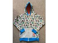 Brand New with Tag Marvel Zip Through Hoodie Boys age 8 years