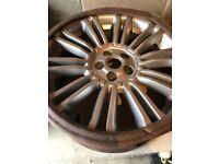 Range Rover Evoque alloy wheel