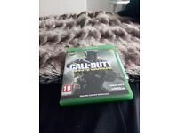 Call of duty infinte warfare xbox one mint condition quick sale