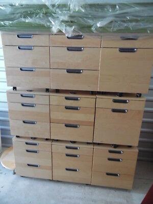 Nine Office Home Filing Cabinet 2 3 Drawer Unit Combination Lock Galant Ikea
