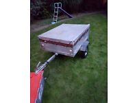 Trailer Erde 121 car tipping trailer / Camping and Cover (Free Local Delivery)