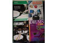Drum Kit – 4 x Music books