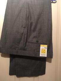 Men's M&S suit trousers