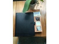Genuine Black leather Filofax Classic Organiser