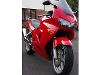 Honda VFR800 F1-Y As new, extremely low mileage, 1 owner - £3,000 no offers