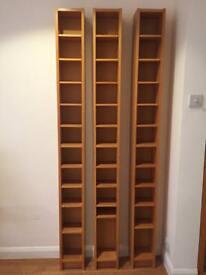 Ikea CD/DVD shelves/stands