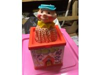 Fisher Price Jack in a box toy
