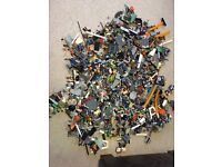 Mixed box of Lego over 6kg no figures probably