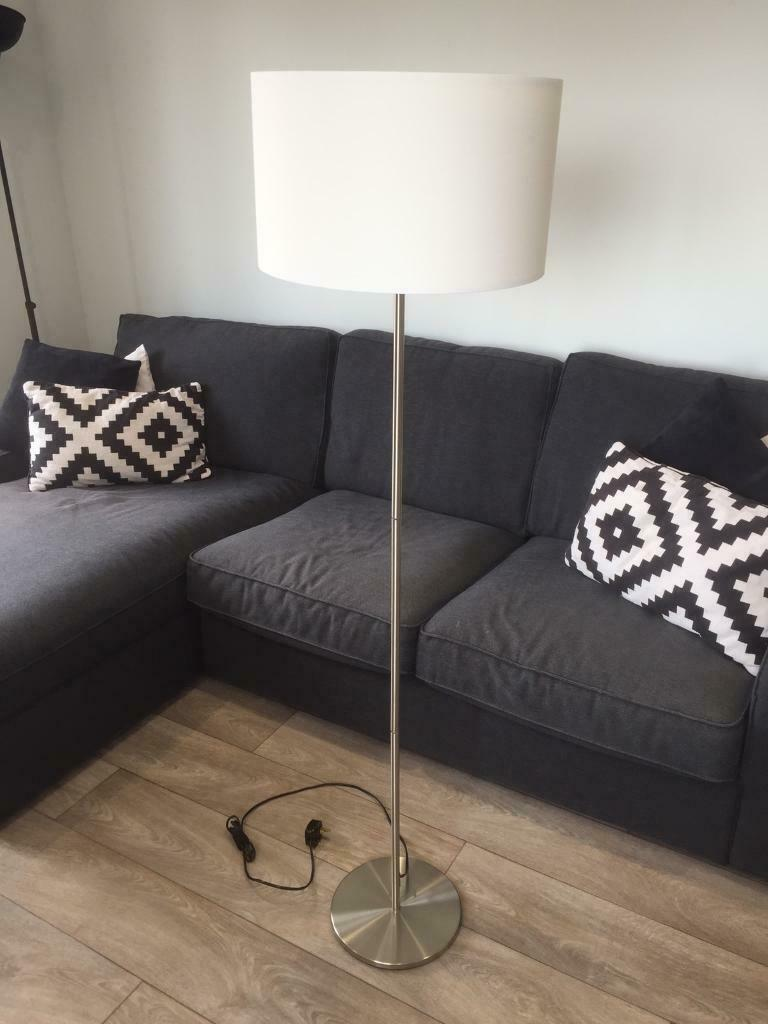 new style beb77 fc389 IKEA Skaftet/Rodd Nickel Plated Floor Lamp Base with Shade | in  Leatherhead, Surrey | Gumtree