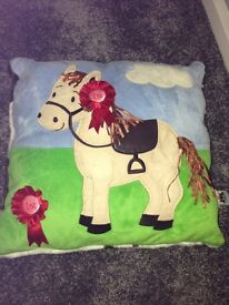 Brand New Kids Pony Soft Cushion by JellyCat Collectable Item
