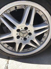 """Mercedes alloys 18"""" 5x112"""