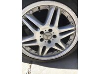 "Mercedes alloys 18"" 5x112"