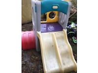 Little Tikes Double Climbing Frame and slide