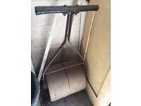 Antique Vintage Garden Roller Cast Iron