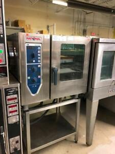 RATIONAL COMBI OVENS AND TURBOFAN ELECTRIC STEAM CONVECTION OVEN
